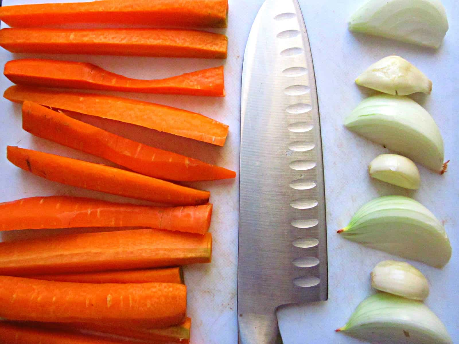 Whey-pickled carrots