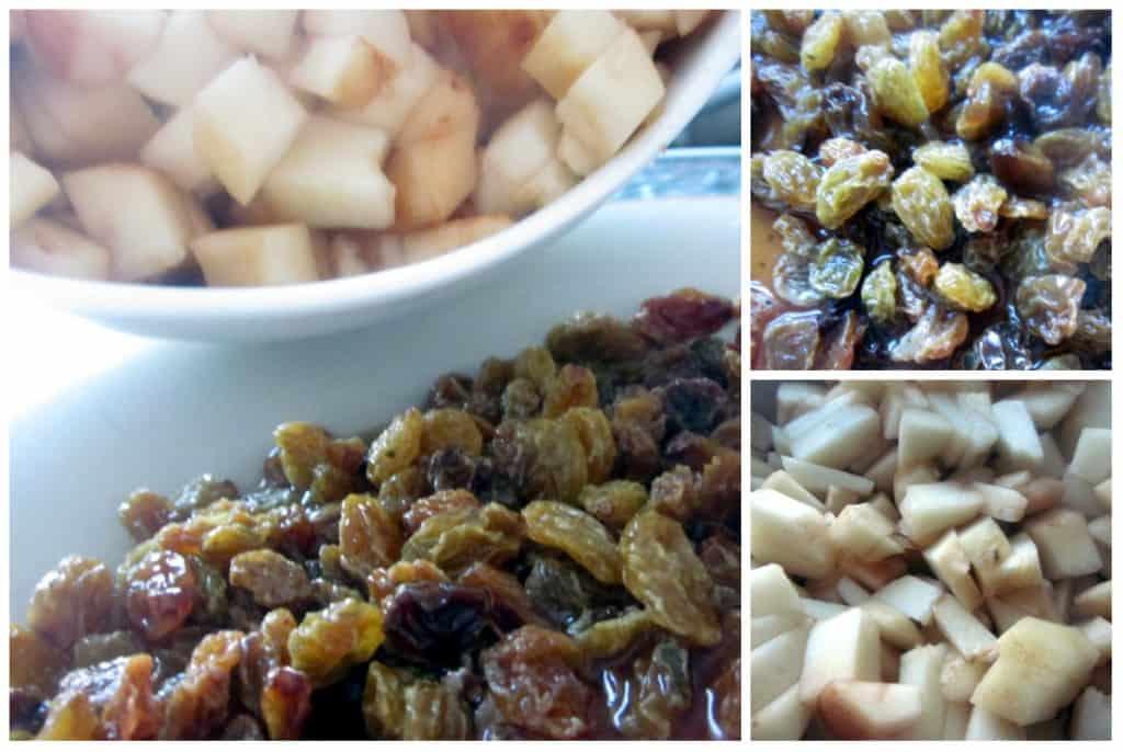 pear-chocolate strudel ingredients