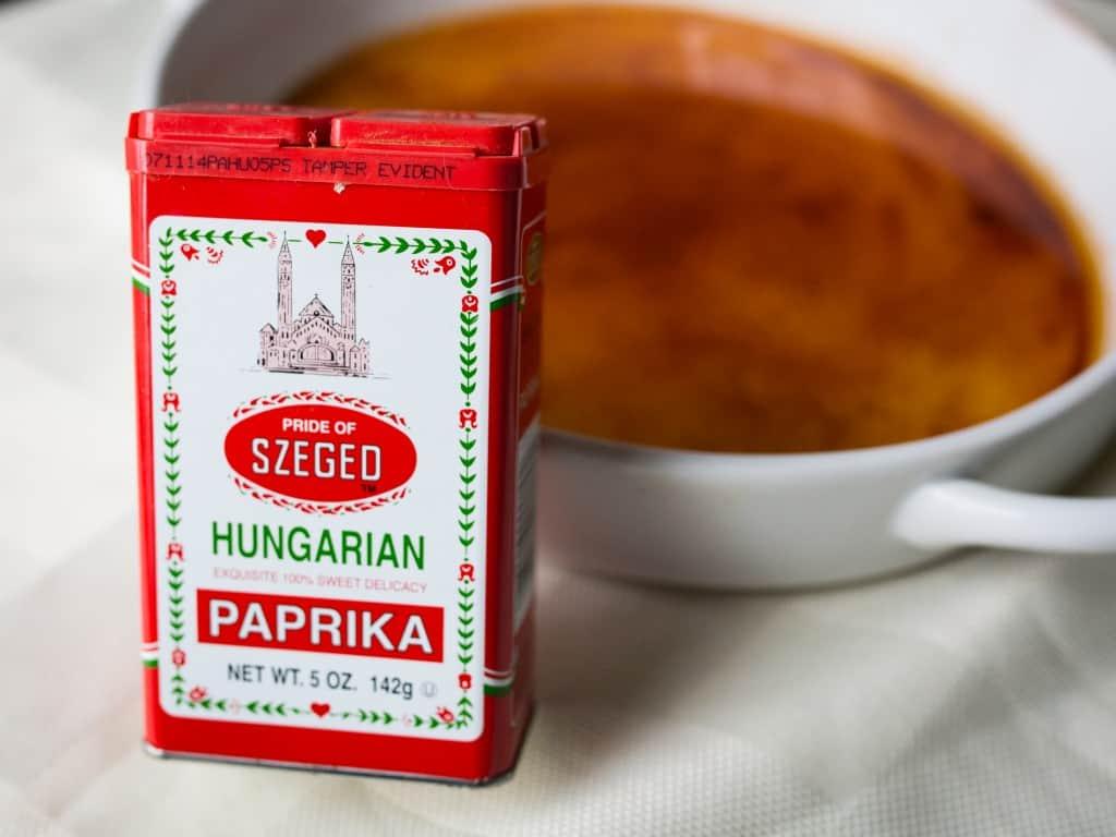paprika oil for paprika potatoes
