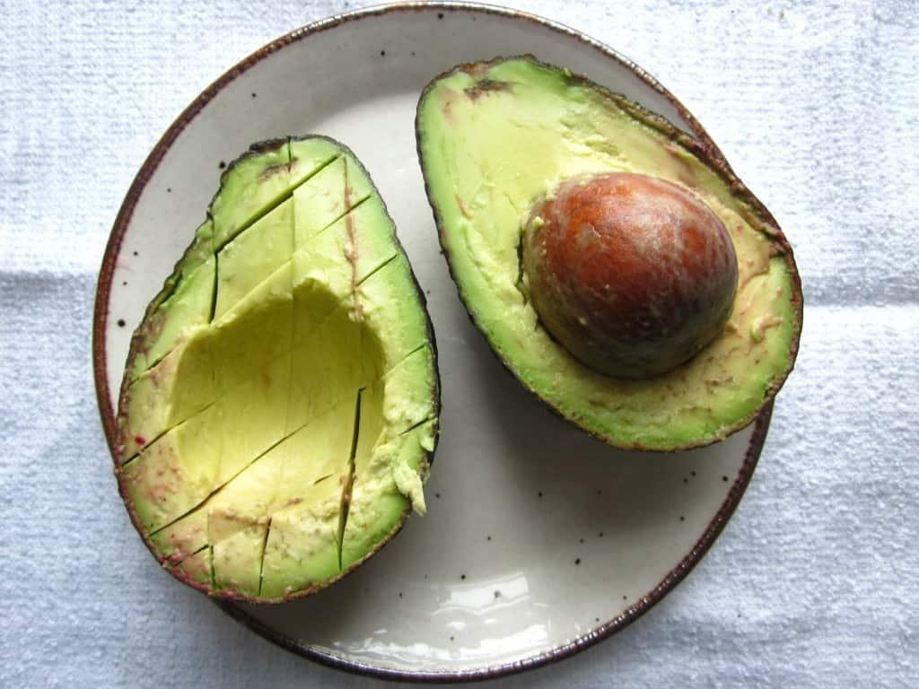 beet, avocado and feta salad avocado ingredient
