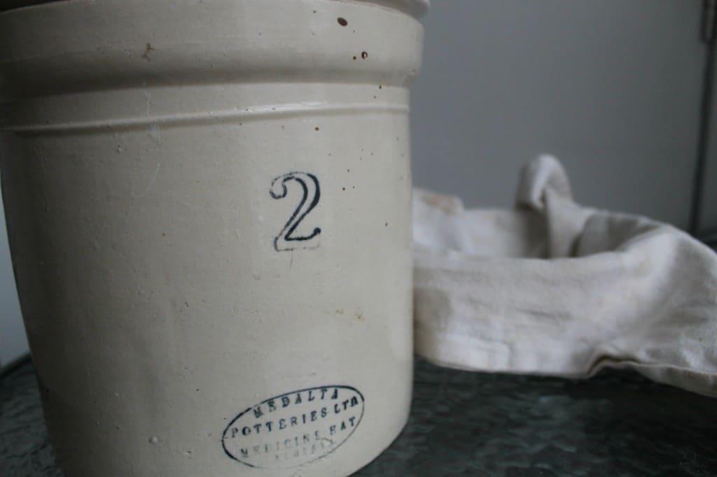 liquid sourdough starter making bread happen in crock