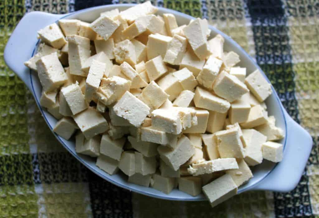 spicy tofu tacos tofu