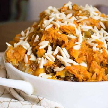Ukrainian vegetarian rice plov