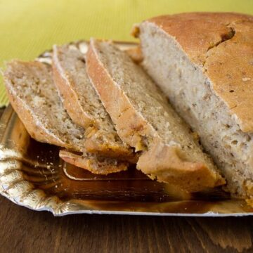 Spiced beer bread