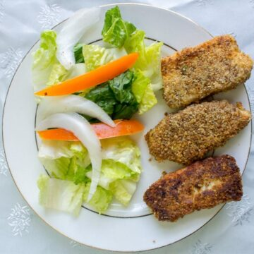 Circassian fried cheese