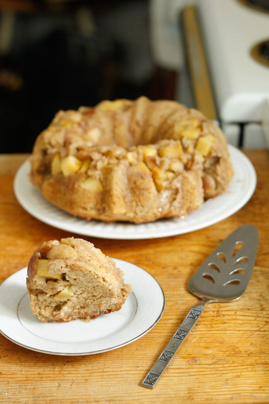 apple olive oil cake 16