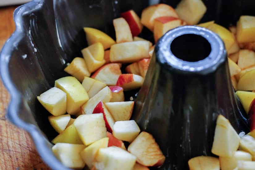 apple olive oil cake 6
