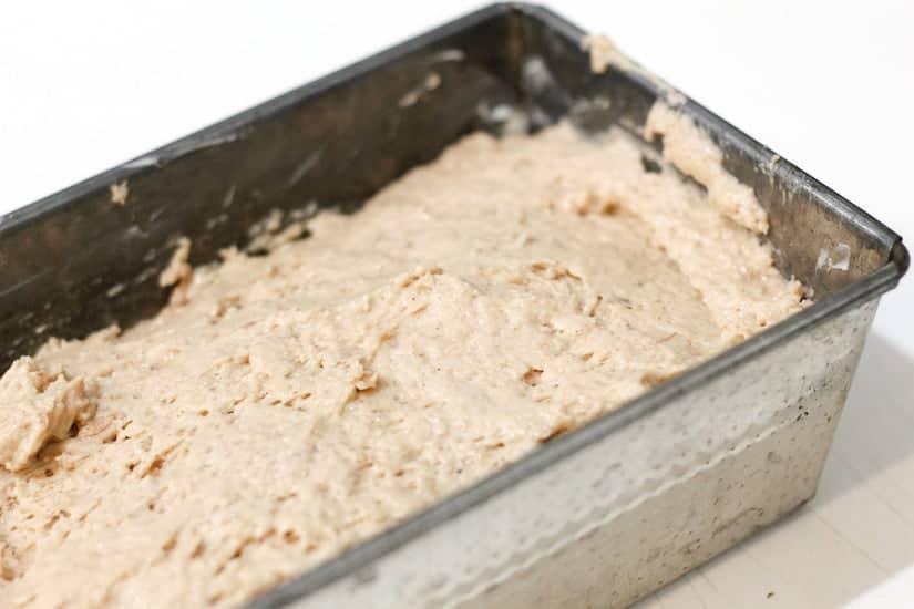 Vegan spiced apple butter cake 5