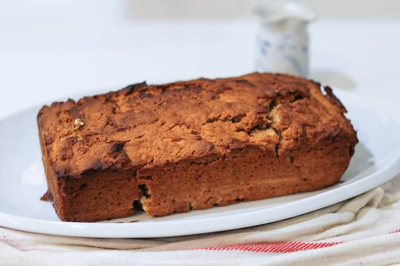 Vegan spiced apple butter cake 6