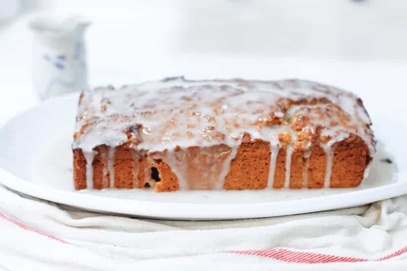 Vegan spiced apple butter cake 9