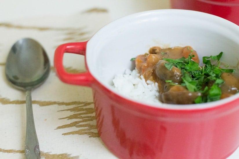 Hearty tomato mushroom stew 11