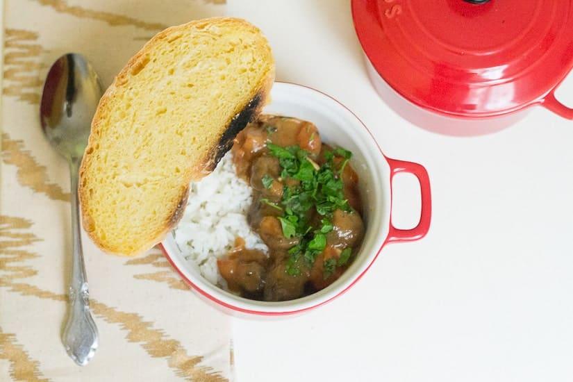 Hearty tomato mushroom stew 12