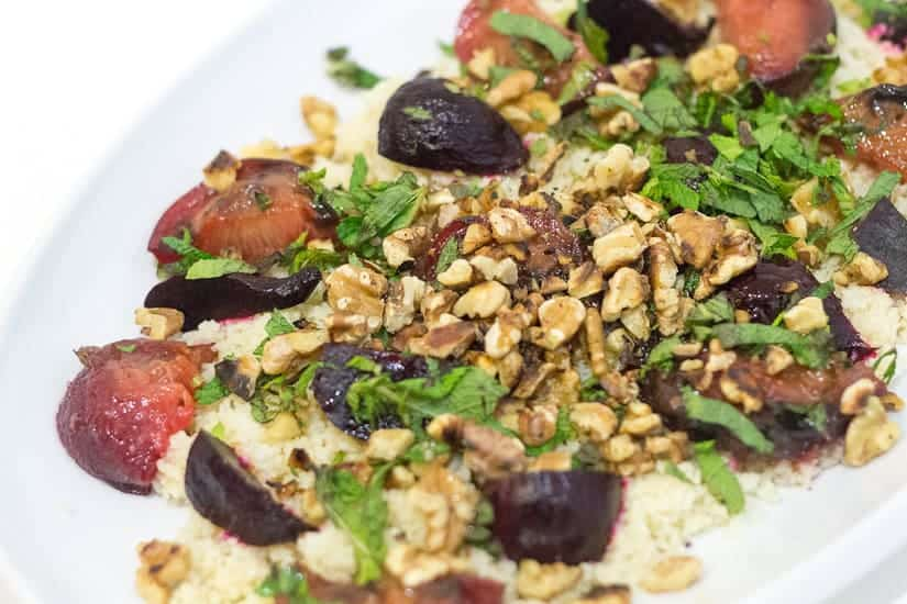 salad with even more walnuts