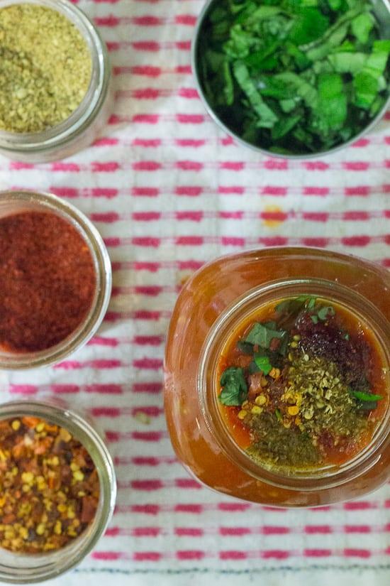Prep for chunky tomato sauce