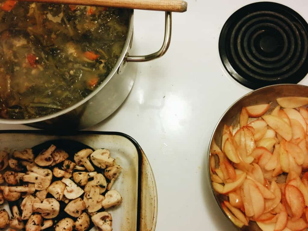 The makings of a Jewish Southern dinner