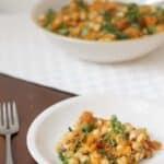Tunisian pumpkin Tirshi salad