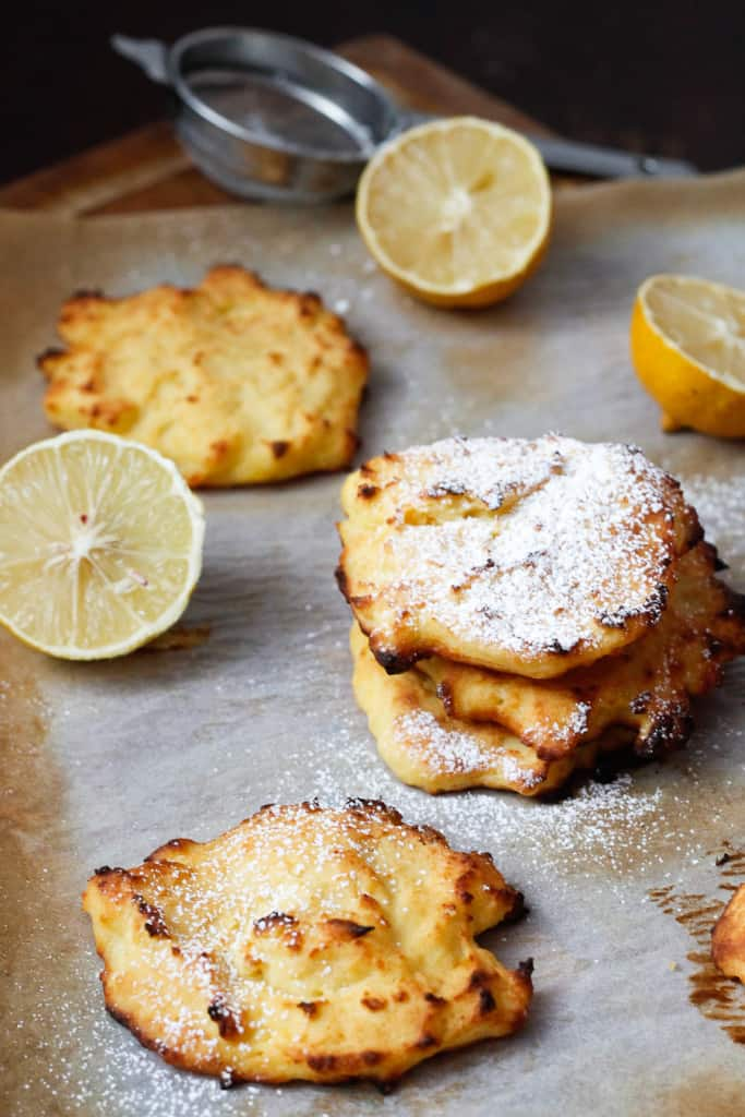So make these gluten-free, healthy lemon ricotta pancakes yourself ...