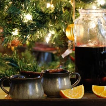 Russian mulled wine