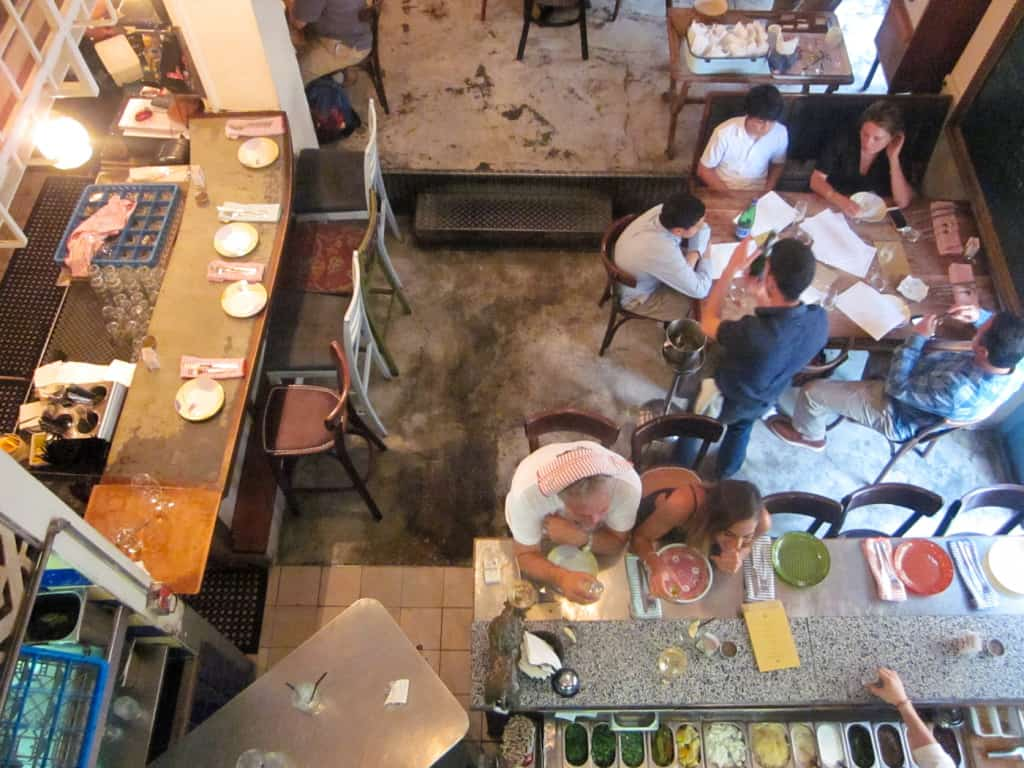 At Machneyuda in Jerusalem, you get no superfluous details, just good food. And yet the resulting dining experience is exquisitely perfect in every way.