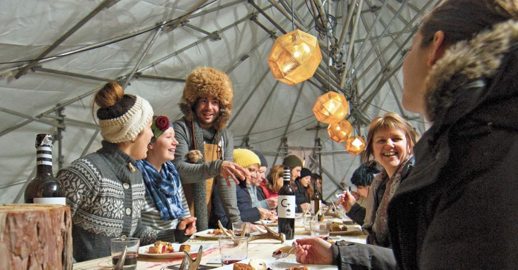 Join me for Tu B'Shevat Under the Trees, a family-style, pescetarian five-course meal with a signature cocktail in Montreal on Sunday, February 7.
