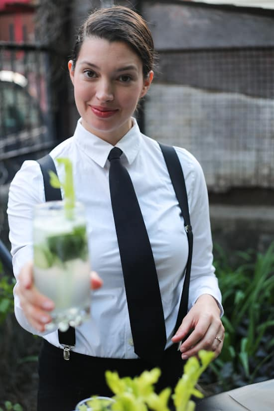 Cucumber celery mint gin rickey, or the magic of Jazz Bar: Prohibition