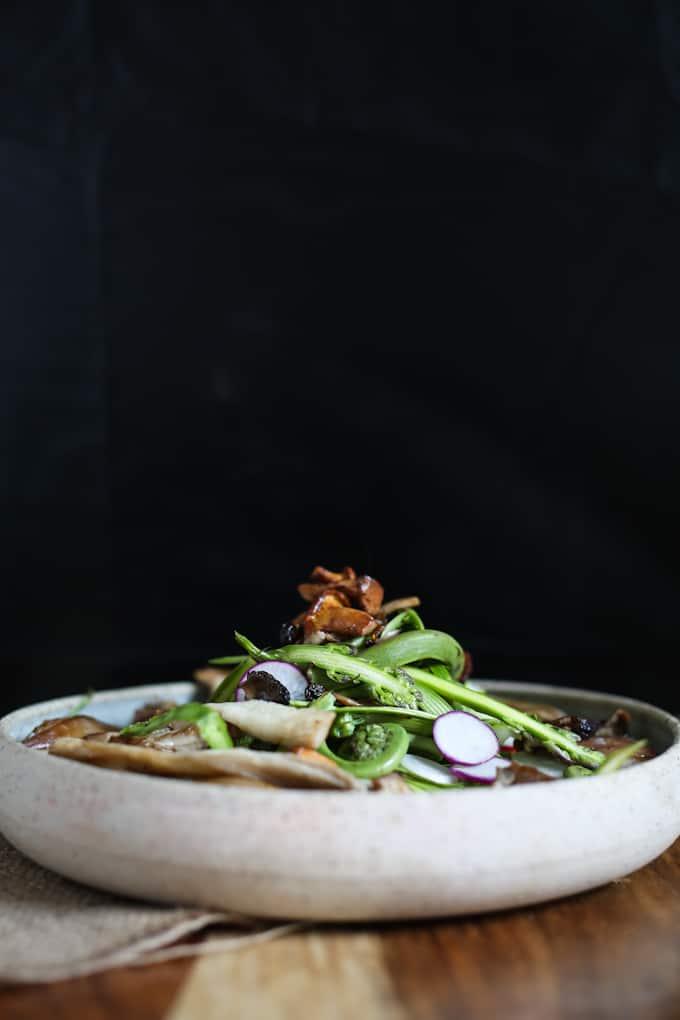 Montreal spring salad
