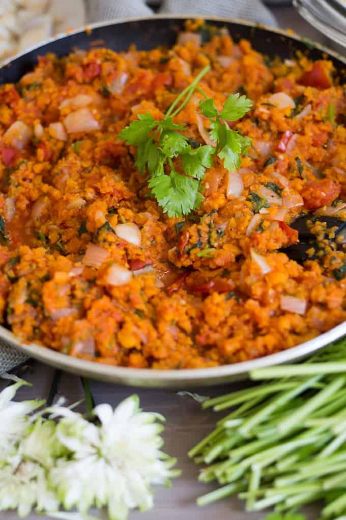 Cold haddock in carrot lemon sauce