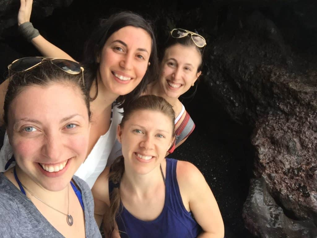 Our time at Black Sand Beach in Maui, Hawaii