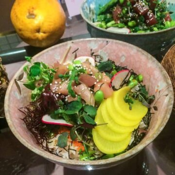 Recreating my Hawaii adventures with authentic poke bowls from Kamehameha, Montreal