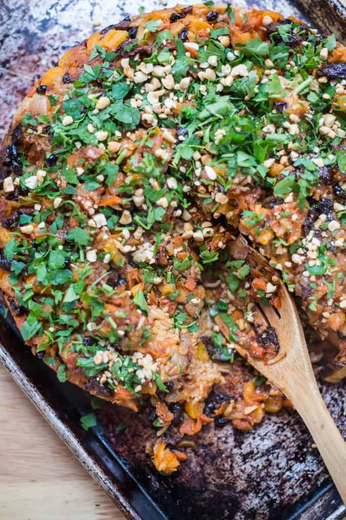 How to make the perfect vegetarian plov