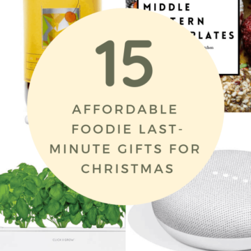 The affordable foodie gift guide