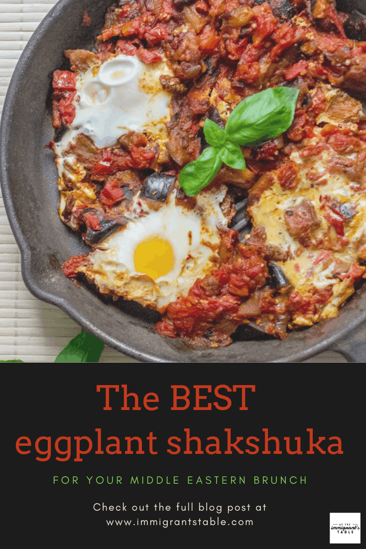 The best eggplant shakshuka