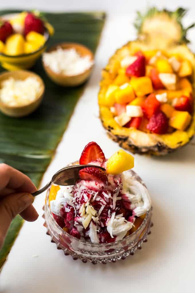 Colombian fruit salad