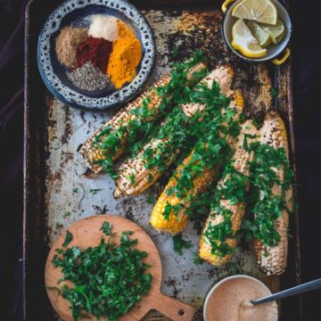 Discover Spiced Middle Eastern Grilled Corn, the Powerful Street Food of Your Dreams