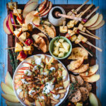 apple appetizers grazing board