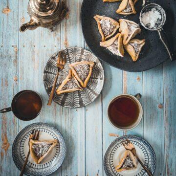 gluten free hamantaschen tea party