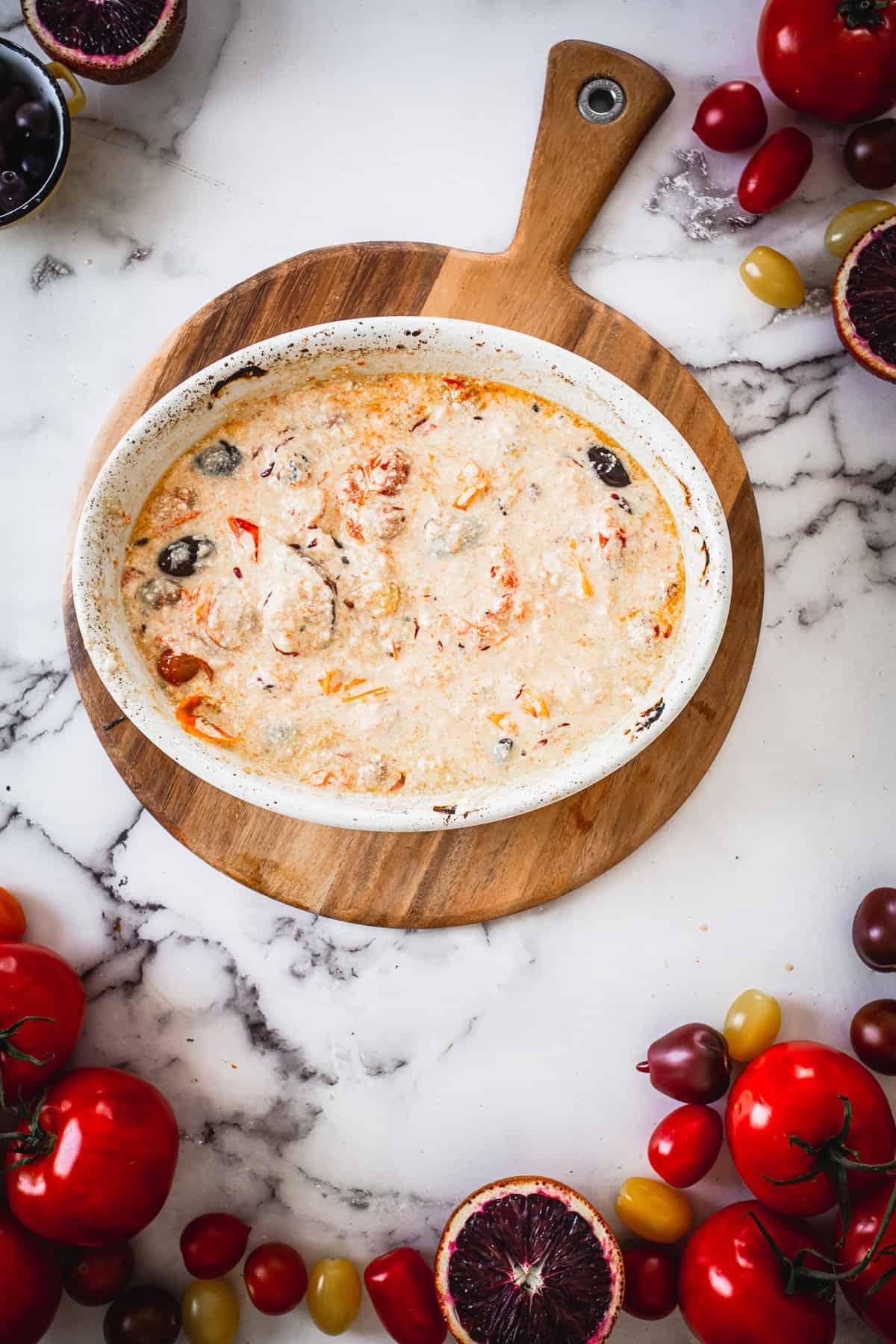 baked feta pasta sauce