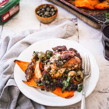 Chicken Marbella Ottolenghi with dates and olives for Passover