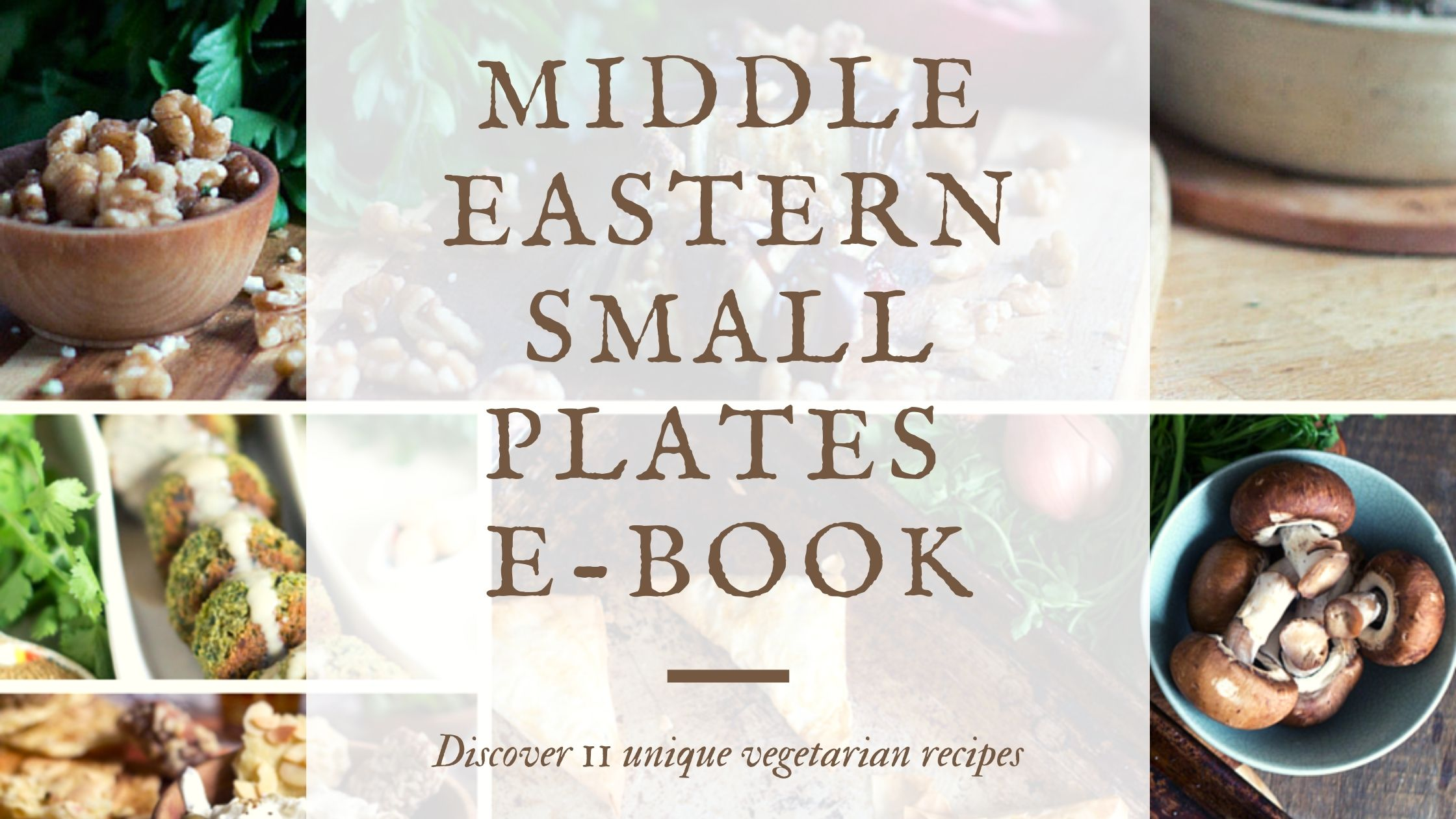 Middle Eastern Small Plates ebook banner