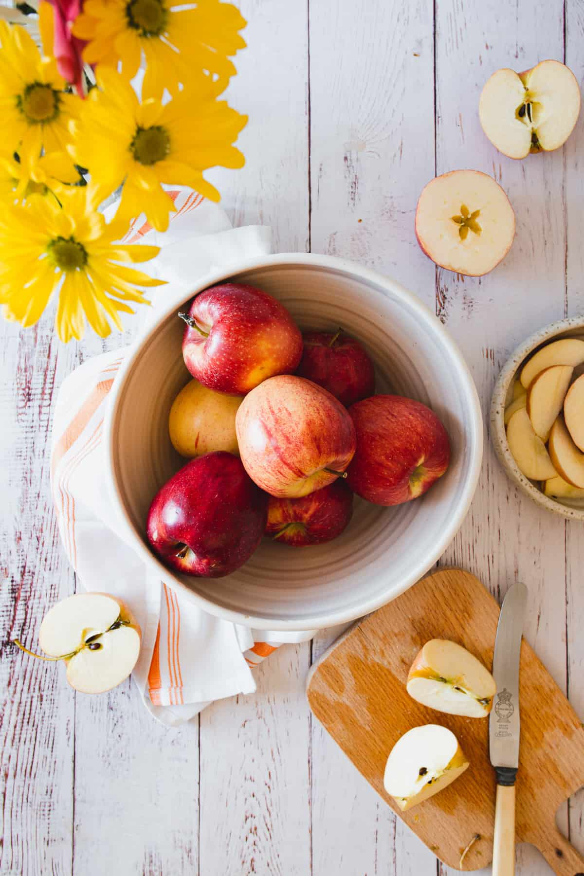 Organic Washington Gala apples