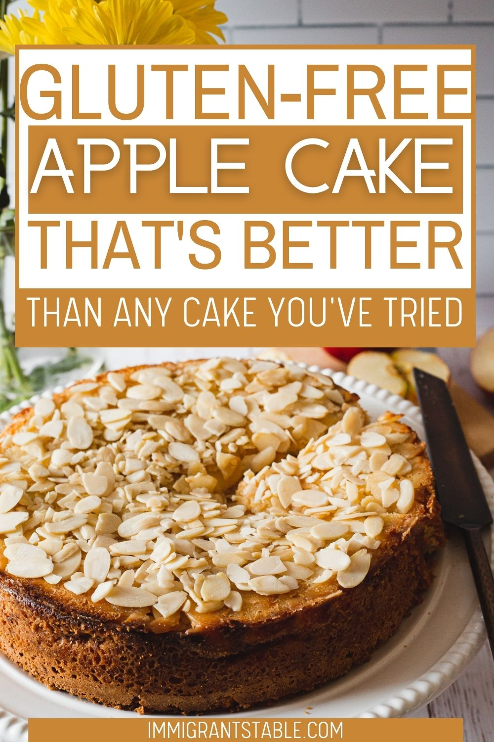 gluten-free apple cake that's better than any cake you've tried