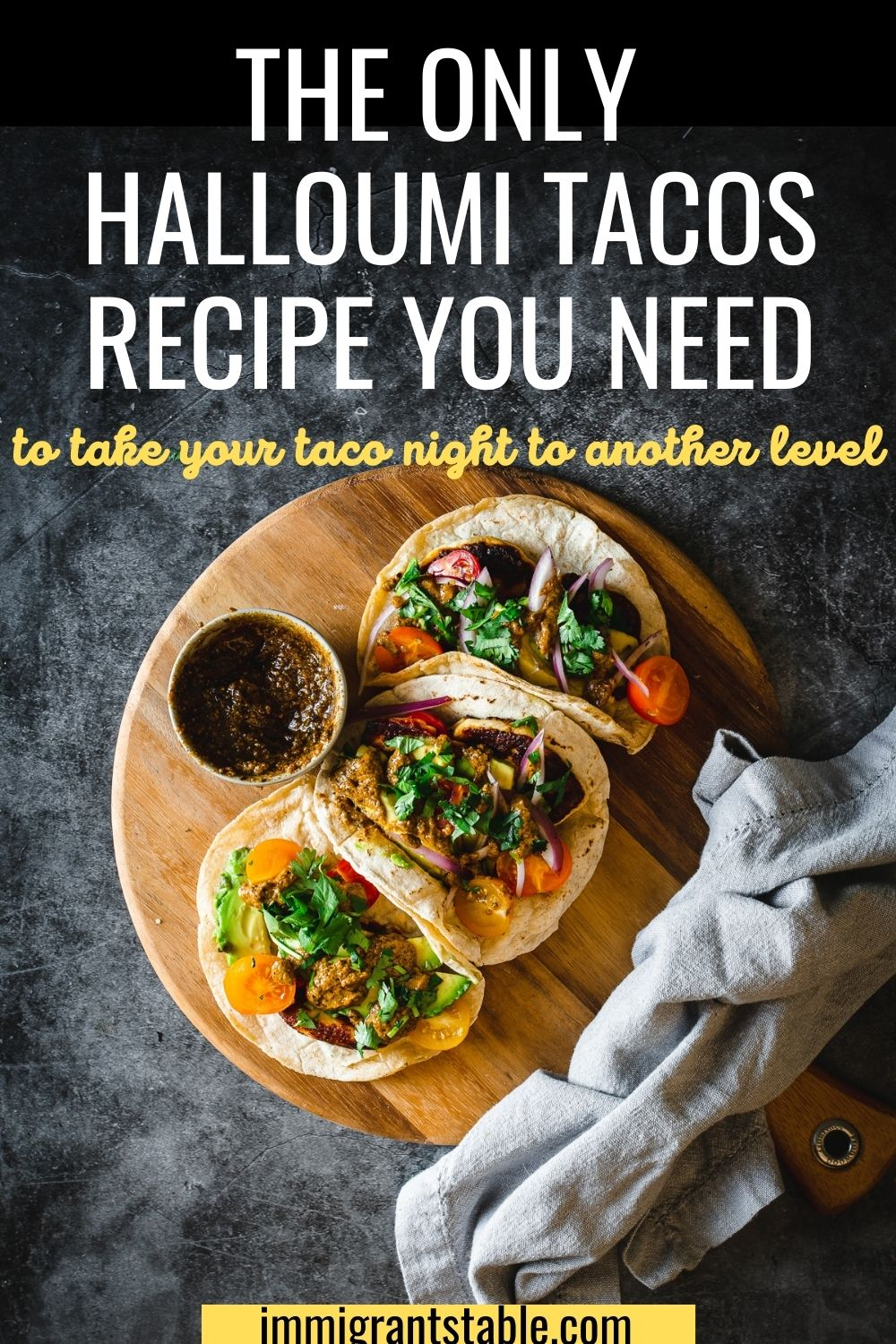 the only halloumi tacos recipe you need to take your taco night to another level