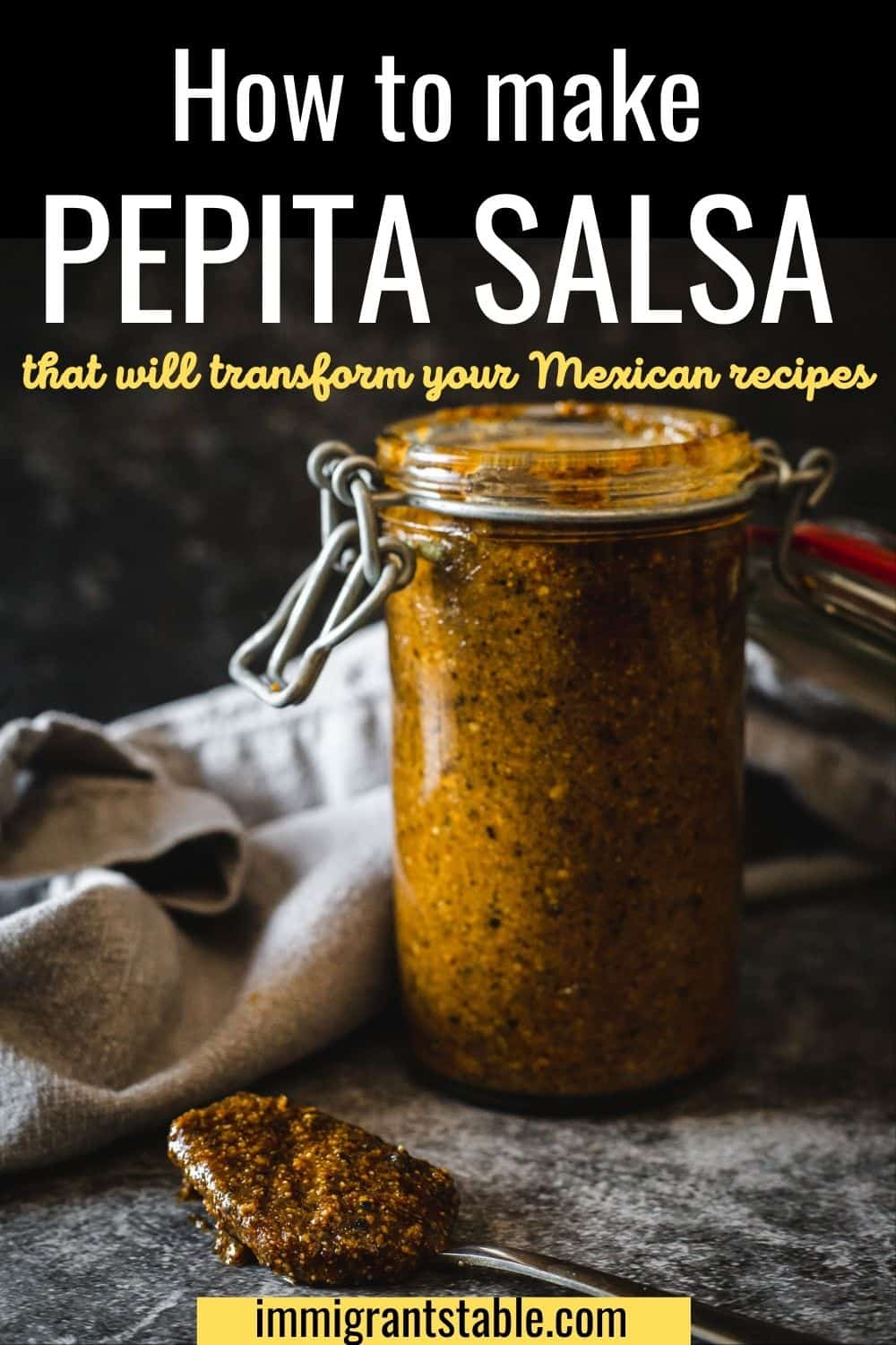 How to make Pepita salsa that will transform your Mexican recipes