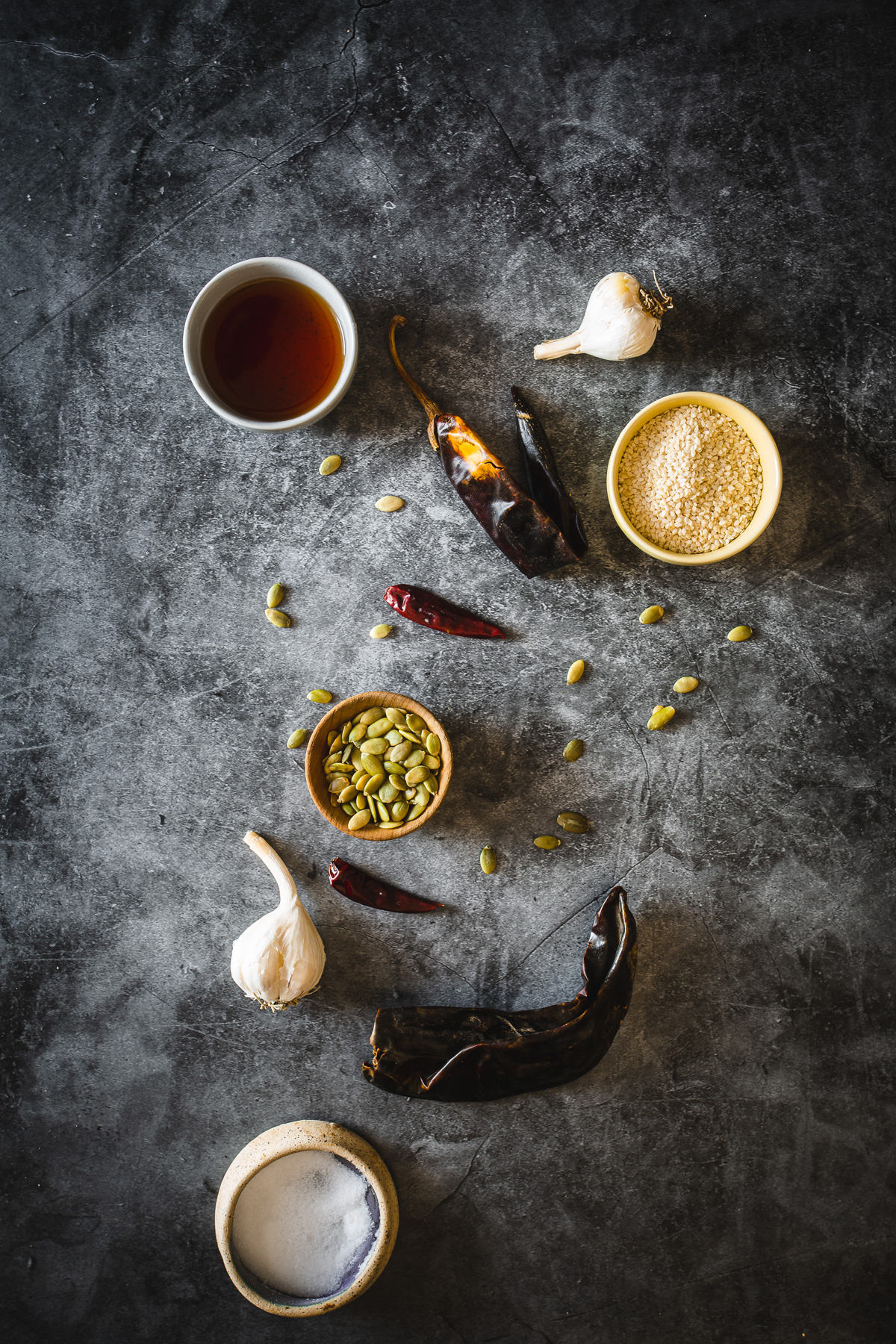 ingredients for pepita salsa