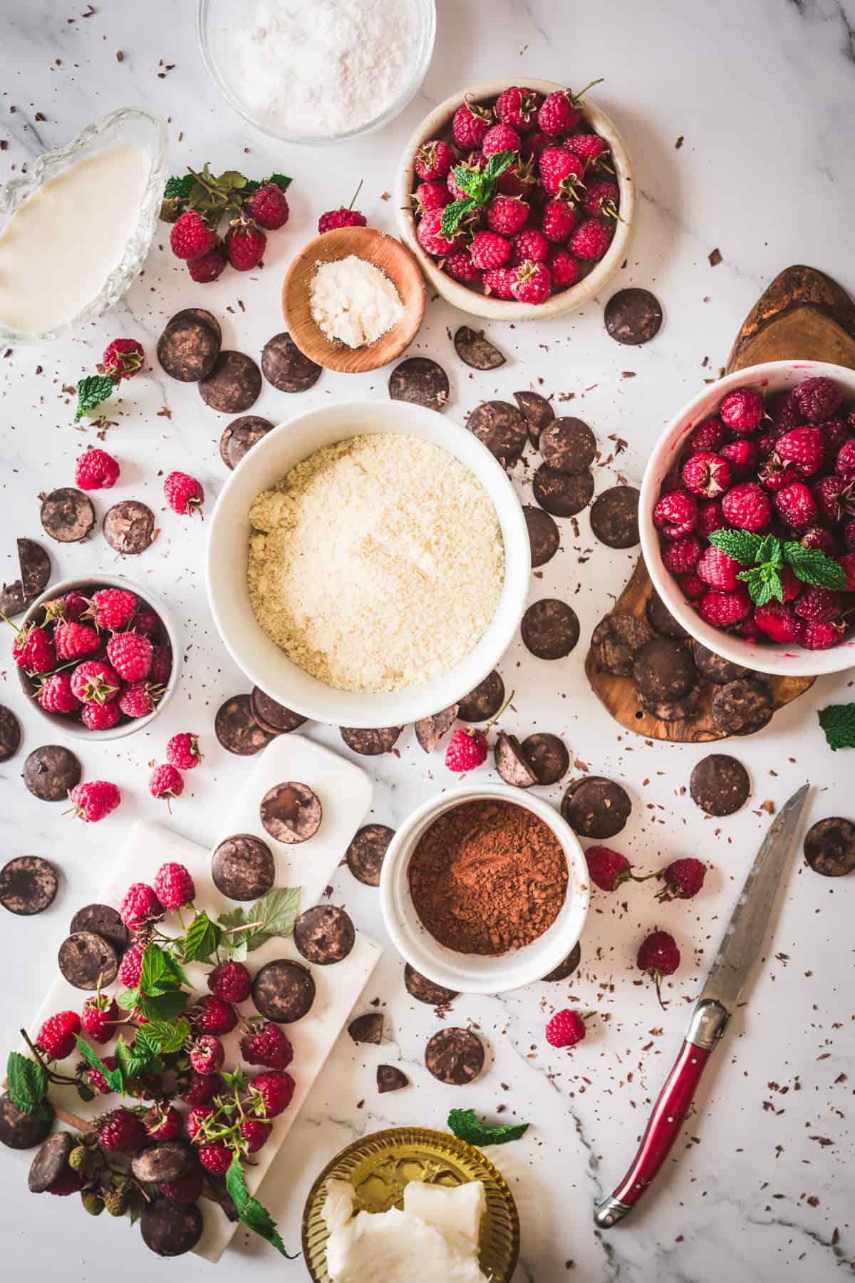 chocolate raspberry tart ingredients