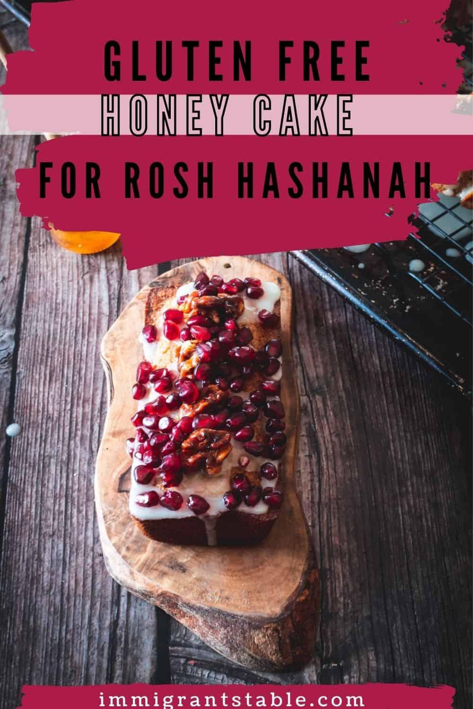 gluten free honey cake for rosh hashana